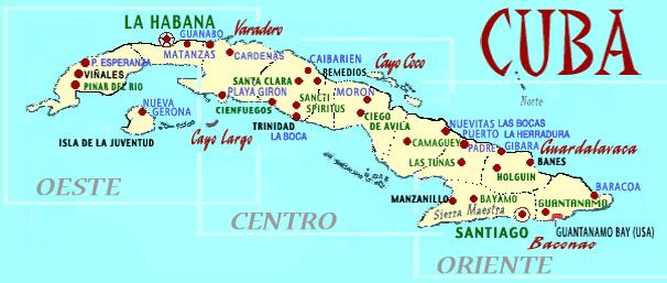 Provinces Maps Cubacasasnet - Cuba map