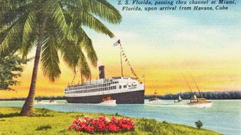 1940 S.S. Florida Miami to La Habana