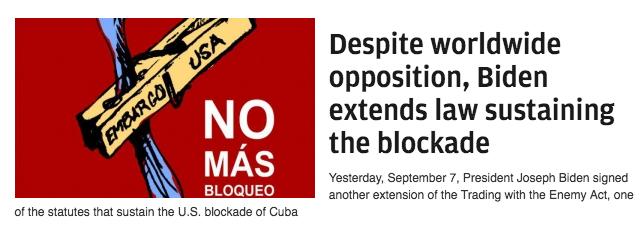WH Spokesman Psaki - Cuba Pres Diaz-Canel Democracy Now 120721